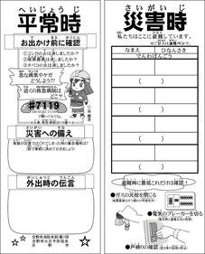 消防署 災害時プレートデザイン&キャラクター制作