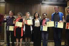 Congratulations to Mark, Carol, Albena, Juan Pablo, & Sean!
