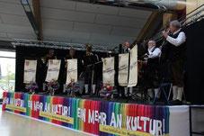 Ihr 40-jähriges Bestehen feierten die Original Waroinger in Wehringen
