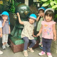 お気に入りのフレーベル館のアンパンマンと一緒に♡