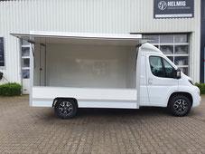 Verkaufswagen gebraucht, Selbstfahrer Renualt Master mit Kühltheke