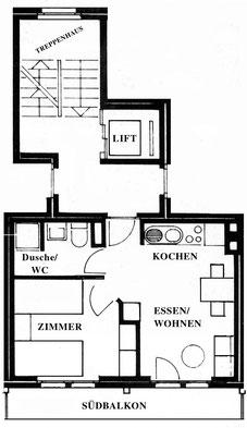 План апартаментов № 4