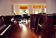 Ausstellung gebrauchter Klaviere & Flügel