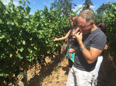 Tasting Wine at Abacela in the Umpqua Valley