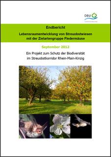 Lebensraumentwicklung von Streuobstwiesen mit der Zielartengruppe Fledermäuse