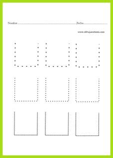grafo-motricidad / orientación espacial arriba
