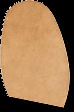 Hochwertige Ledersohle mit fehlerfreiem natürlichem Narben von Rendenbach