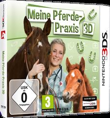 Packshot Meine Pferde-Praxis 3D
