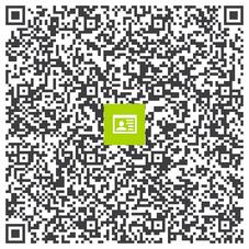Unsere Praxisadresse: Einfach mit dem Smartphone scannen und speichern, damit Sie sie immer griffbereit haben! Tipp: Klicken Sie auf die Grafik, um sie zu vergrößern, bevor Sie scannen!
