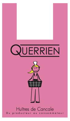Sac à bretelles huîtres Querrien Cancale - Logo&Co Communication Cancale