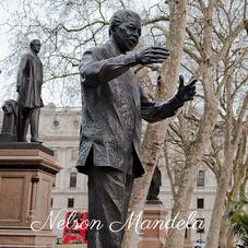 Statue von Nelson Mandela, Künstler Ian Walters, Westminster, London