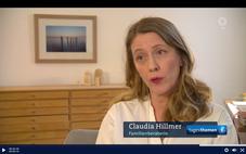 Kurzes Interview mit Claudia Hillmer (ddif), zum Thema Wechselmodell in den Tagesthemen