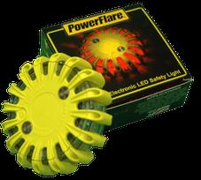Original PowerFlare-Warnleuchte mit Verpackung