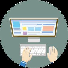 ハートブレーンはサイト完成後の運用を大切にします