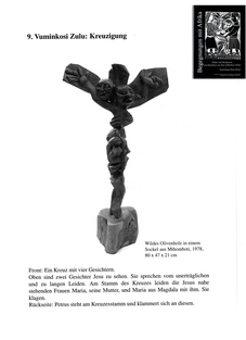 Vuminkosi Zulu - Kreuzigung