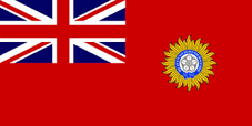 British Raj Indian flag