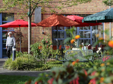 SeidenCarre Krefeld Betreutes Wohnen Garten