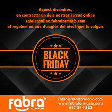 fabra formacio black friday ofertes