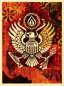 Shepard Fairey Keep it Underground