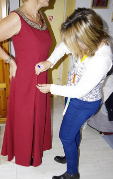 La robe médiévale d' Isabelle