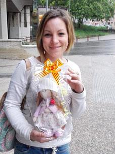 Yurena Beltran,ganadora del sorteo de Facebook