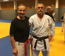 Bernard Bilicki et Hervé Bussière