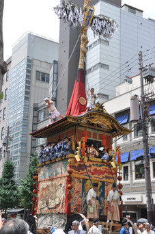 Yoimaya Parade in Kyoto