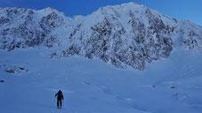 Grand Argentier topo massif du Thabor goulotte mixte Tire Bouchon guide de haute montagne