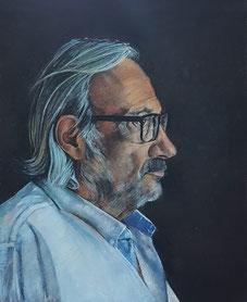 Retrato de Munárriz por Gustavo Molero