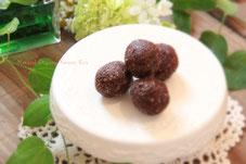 O−リヴオーガニックミントオリーブカカオボール卵乳砂糖不使用
