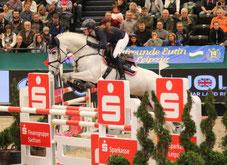 Finale Eggersmann Juniorcup: Überzeugten auf ganzer Linie und gewannen das Finale - Magdalena Schäfer und Kandela R aus Wittichenau. Foto: bb