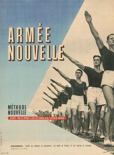 """""""La santé par le sport"""" affiche de 1941"""