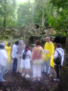 La magia de nuestros Viajes a lugares de Poder (aqui en Palenque enero 2013)