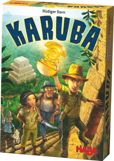 Rezension zum strategischen Lege-Brettspiel Karuba - nominiert zum Spiel des Jahres 2016