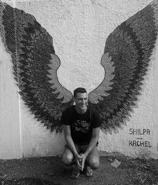 Amazing street art is everywhere you look in Kochi. Dante Harker