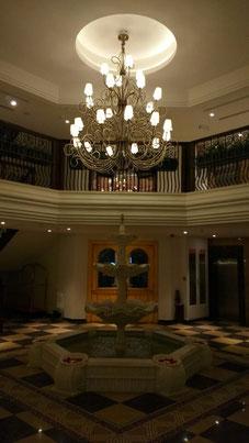 The elegant entrance lobby at the Fragrant Nature Kochi. Dante Harker