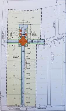 Entwurfsplanung 2. Bauabschnitt Süd-West