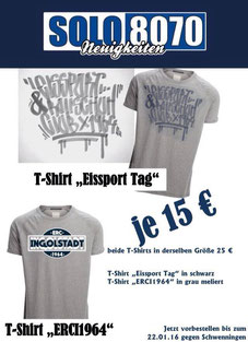 Neue T-Shirts Solo 8070