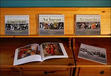 Livres de la collection des hommes et leur métier photographies Denis Barrau