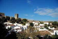 Die mittelalterliche Stadt Obidos