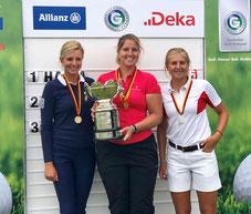 Die Siegerinnen der IAM 2018 - © Golf Club St. Leon-Rot