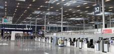 Aéroport Orly fermé depuis la crise du COVID.