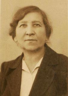 С. Я. Ливанская. 1930 г.
