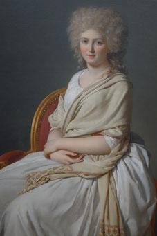Anne-Marie-Louise Thélusson, Comptesse de Sorcy, Jacques-Louis David, 1790, Neue Pinakothek München. picture taken by Nina Möller