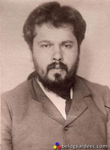 Авантюрист Беркенгейм. Большевистский агент в Европе, экономический преступник. Фото из картотеки преступников царской полиции.