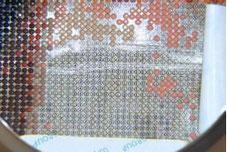 Codification d'une broderie diamant