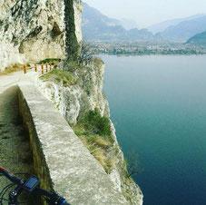 Ponalestraße, Riva del Garda, Gardasee, Ledrosee