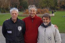 v.l. Gerd Hahlbrock, Gerd Schramm, Helmut Heinz