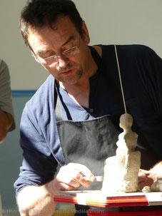 Henri-Paul Badet, formateur en sculpture
