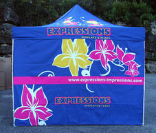 custom printed folding canopies